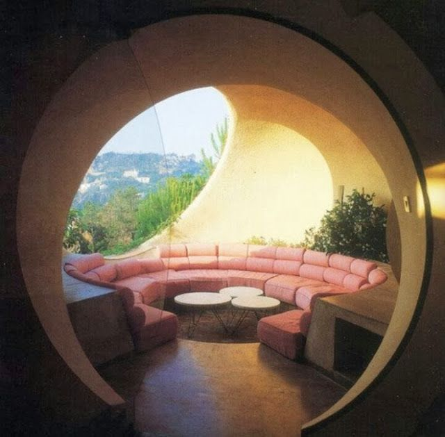 Conversation Pit... a technology-free space in the home for only friends, family, food, wine, and conversation... a lost art, maybe?