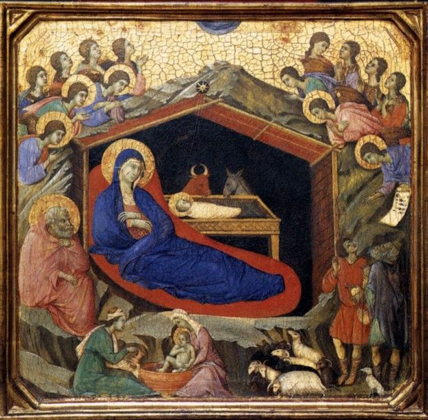 Duccio, Nativity panel, National Gallery of Art, Washington 1308-11