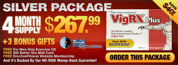 Buy 4 month supply vigrx plus package & just enhance your sex stamina on bed with high sex drive.