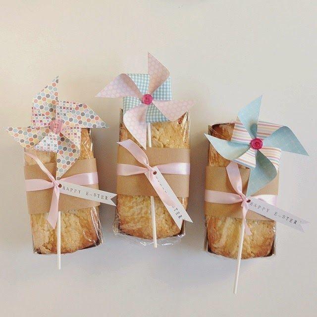 Pinwheel wrapped pound cake