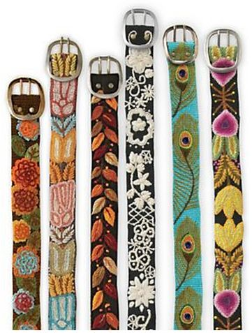 Exclusive styles of our #handcrafted #FairTrade #belts in the Sahalie Catalog! Or visit jennykraussretail.com