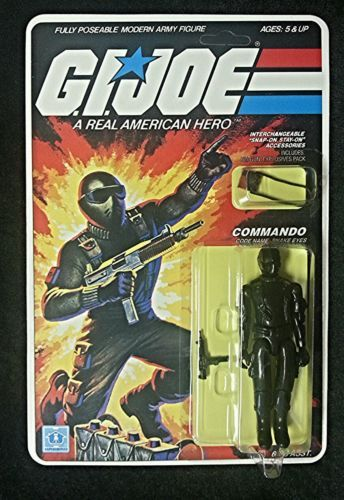 Gi Joe Snake Eyes 1982 Vintage Action Figure 100 Complete 9 Restoration | eBay