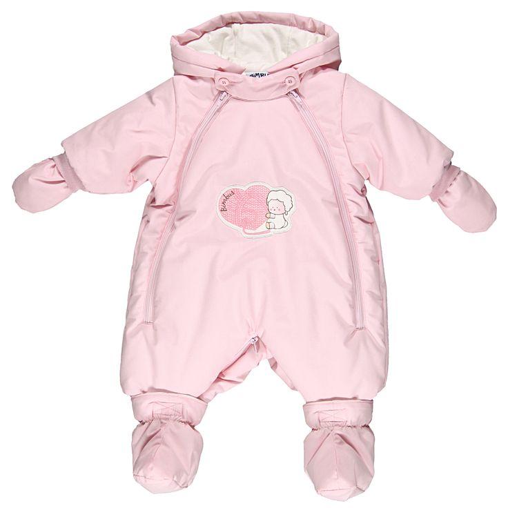 Tuta neve rosa con grafica davantiDa Neonata | Abbigliamento Store
