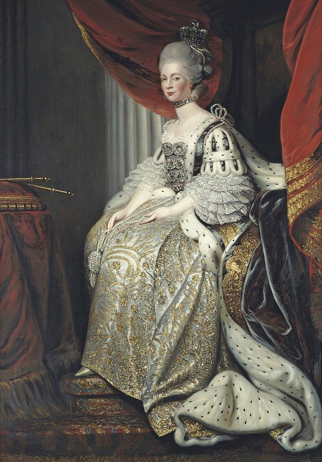 The name also has historic royal standing with Queen Charlotte, born in 1744, using it instead of her given first name, Sophie. Charlotte was one of her other given names.