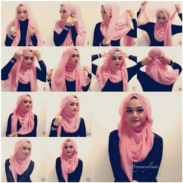 Love how this hijab is styled