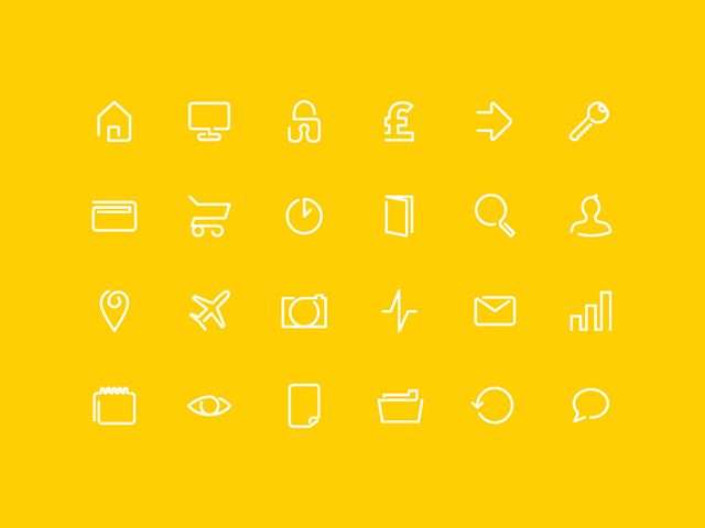 12 Free High-Quality Line Icon Sets   You And Saturation