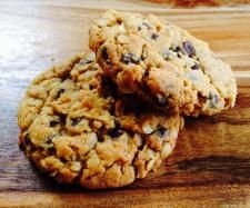 Recipe Peanut butter choc chip oat cookies by ThermoFlavour - Recipe of category Baking - sweet