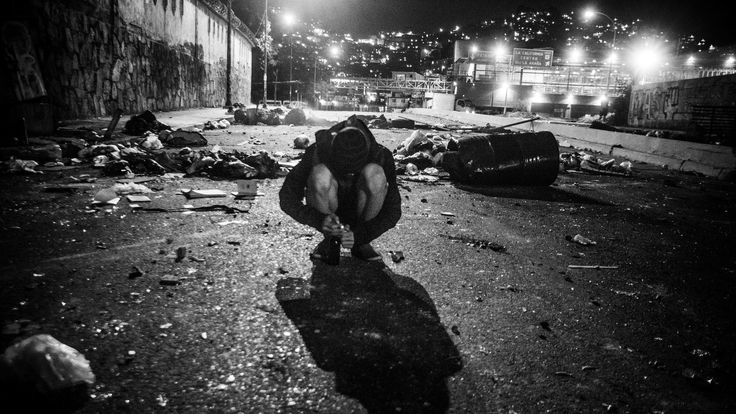 Haunting images capture the turmoil, and suffering, of Venezuela.