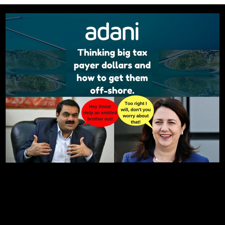 The major parties don't work for the people that vote for them, they work for the corporations that pay for them. #stopadani #qldpol