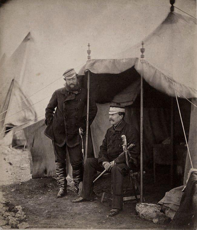 Lieutenant General Sir John Campbell & Captain Hume