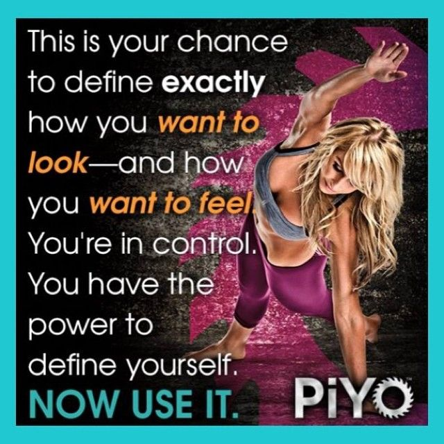 You have the power to define yourself! Now use it! Go to my site > www.kimfowler.co/ to join me in a PiYo Support Group for major RESULTS! I'll see you there!!