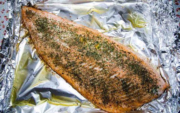 Przepis na rybę z grilla