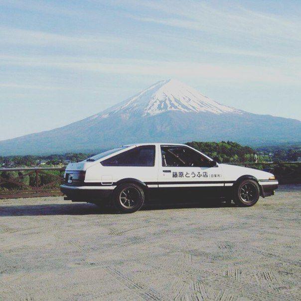 "TumblrToyota Sprinter Trueno AE86 ""Hachi-Roku"" Initial D"