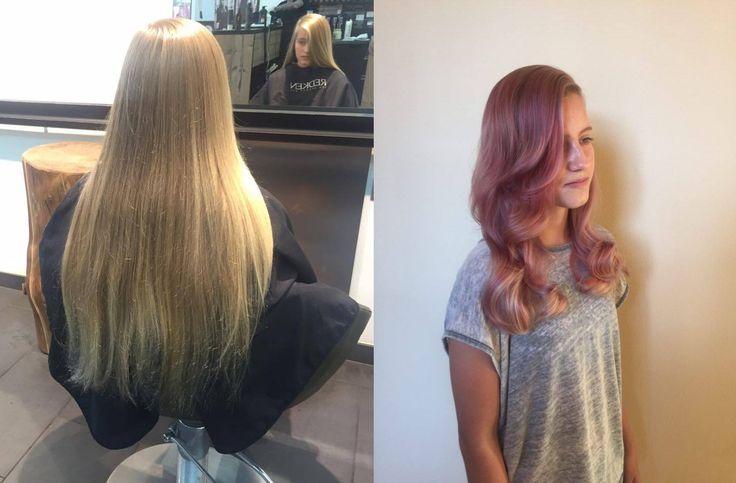 Není to vždy o tom mít velmi dlouhé vlasy, u kterých se často setkávám s tenkými konci. Čistým střihem získáme vlasy bohaté v koncích, barvícím efektem pak lze dosáhnout plnosti délek a objemu. Slečně to moc sluší! :) Barva, střih: Karel Dražan / Studio Miracle #studiomiracle #kareldrazan #redkenkadernici