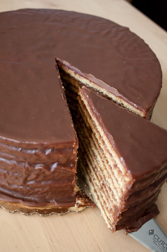 Classic Chocolate Smith Island Cake (Maryland's state cake)