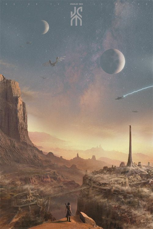 Cartel no oficial de John Carter.