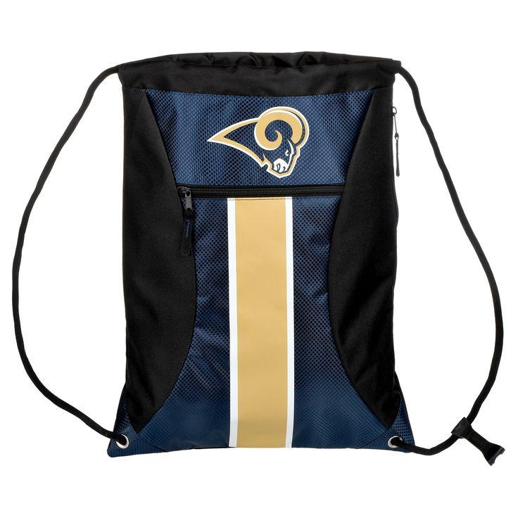 NFL Los Angeles Rams Big Stripe Drawstring Backpack
