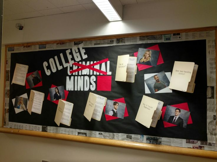 College Minds RA board. Each case file is a different topic and ways to handle certain things such as anxiety and depression while at college