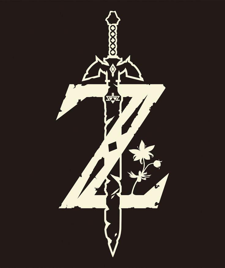 "Alternative logo design for Nintendo's ""Breath of the Wild"