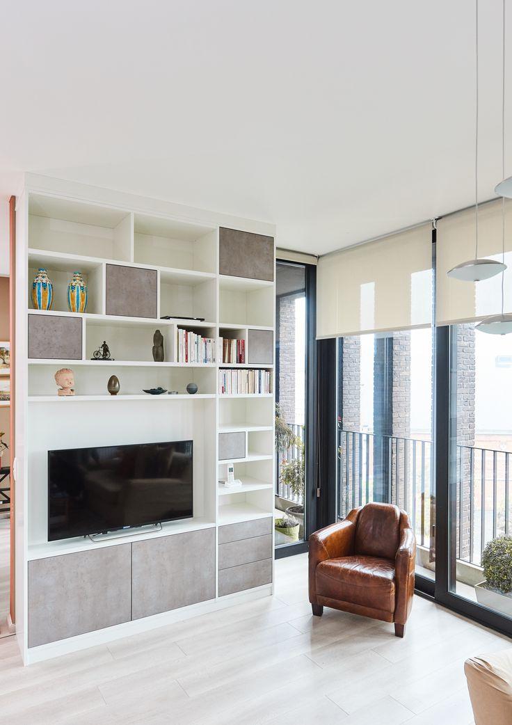 Meuble TV sur mesure  - TV meubel op maat