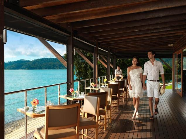 Pebble Beach restaurant at qualia