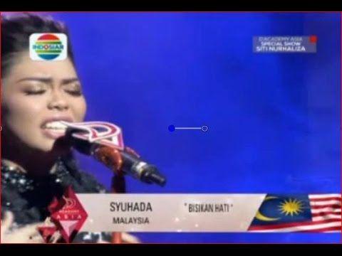 BISIKAN HATI  SYUHADA (MALAYSYA) DANGDUT ACADEMY ASIA KONSER SPESIAL SIT...