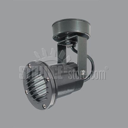 Boluce Show 4051.15 Proiettore per interni ed esterni con griglia, a parete e a soffitto. Colore: antracite metallico o bianco.