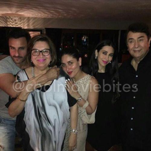 Picture Perfect: Saif Kareena Karisma & Randhir Kapoor...