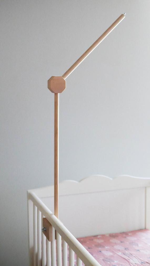 Cot Mobile Hanger Baby Mobile Hanger Crib Wooden Mobile Arm