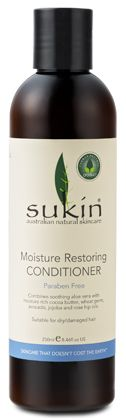 Moisture Restoring Conditioner (250ml / 500ml) - Hair Care - Sukin Australian Natural Skincare products, Best Natural Skincare