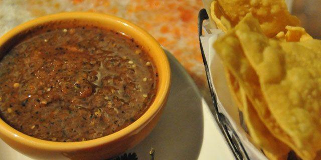 Saul Ortiz's Scorpion Pepper Salsa