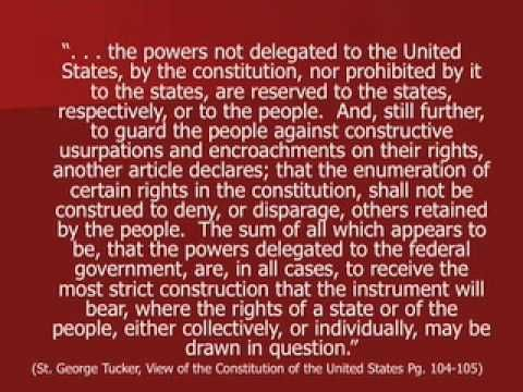 Enumerated Powers -Principles of Federalism - YouTube