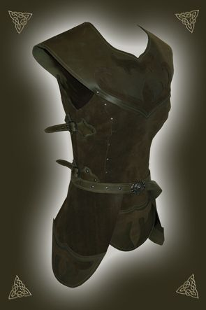Leather armor that would look great for a wood elf.