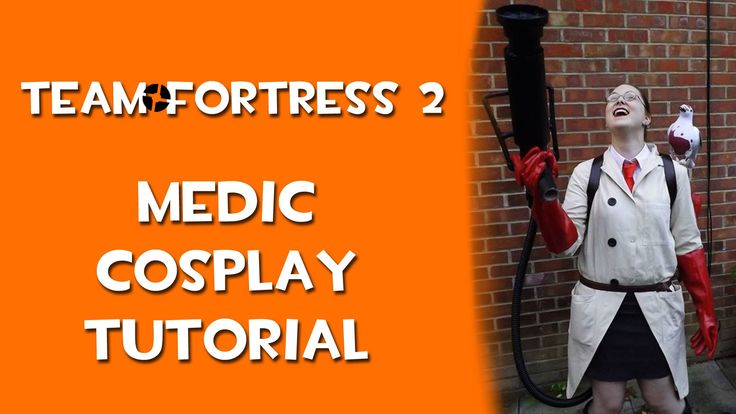 My Girly Medic TF2 Cosplay!