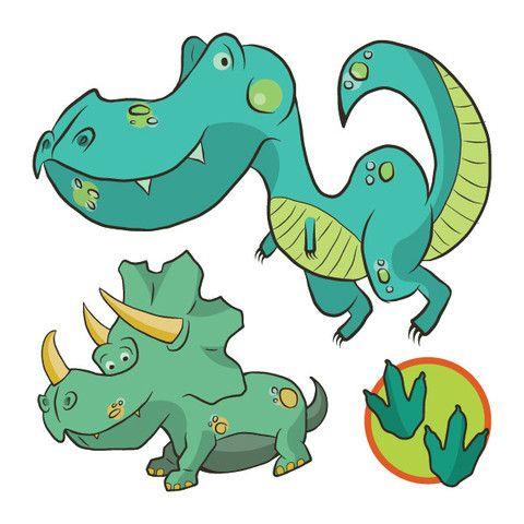 Temporary tattoos - The dinosaures - from Picotatoo Tatouages temporaires - Les dinos – de Picotatoo