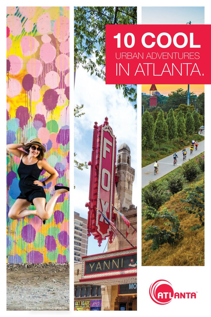 Get started on your Atlanta bucket list.