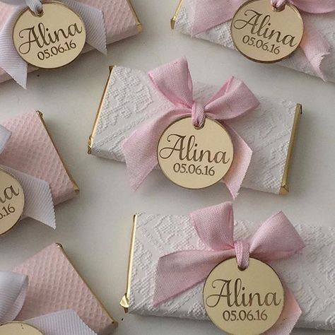 WEBSTA @ littleeventboutique - Personalised chocolates for Alina's Christening yesterday ⛪️ www.littleeventboutique.com.au #LitteEventBoutique#babygirl #christening #baptism #christeningday #bombiniere #chocolate #swisschocolate #pwrsonalisedchocolate #favors #love #pink #white #babyshower #shopsmall #sydney #weddedwonderland #gift #thankyou #followus #gold #kitchentea #baby #event #party