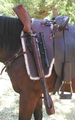 rifle scabbard for your horse