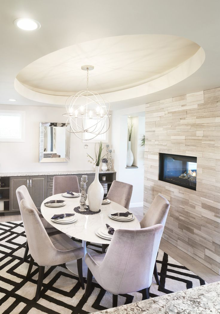 The Birchwood Dining Room In Legacy Trico Homes Check Out New Built