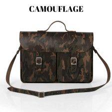 Oldschool Bags - camouflage. Verkrijgbaar bij www.bornidentity.nl