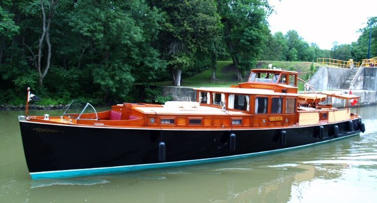 Dolphin 66 Wooden Consolidated Commuter Yacht Built