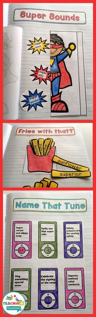 Articulation Notebook Templates for Speech & Language Therapy by teachingtalking.com