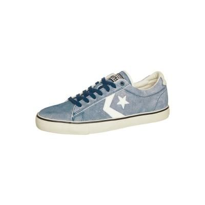 €50, Hellblaue Niedrige Sneakers von Converse. Online-Shop: Zalando. Klicken Sie hier für mehr Informationen: https://lookastic.com/men/shop_items/80759/redirect