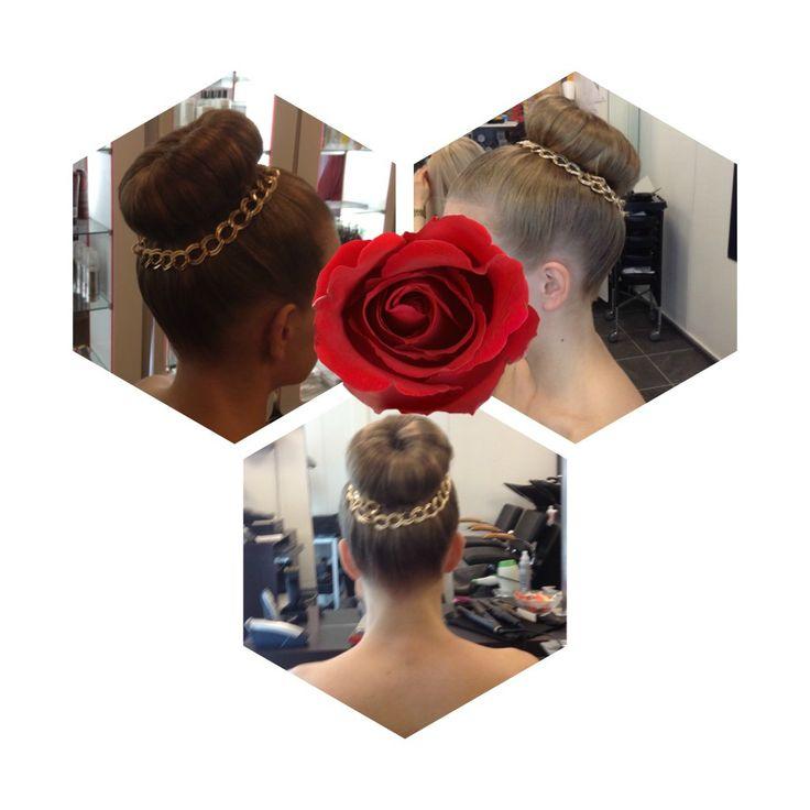 #guest #wedding #weddinghair #longhair #hairdo  made By Sirpa Polvi