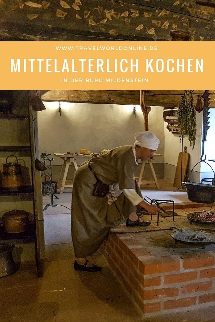 In der Burg Mildenstein in Sachsen haben wir gelernt, wie man im Mittelalter gekocht hat. Im Video könnt Ihr das miterleben.