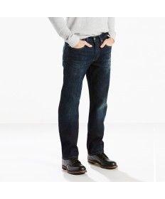 Mens Levis 514 Ship Yard Straight Fit Denim Jeans