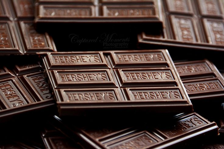 Cool picture of an abundance of Hershey's Chocolate bars!! Mmmm I love chocolate!!