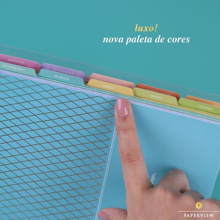 O Daily Planner 2017 está com cores novas e mais suaves... www.paperview.com.br…