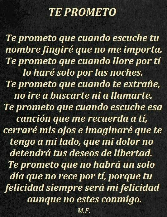 Te prometo.