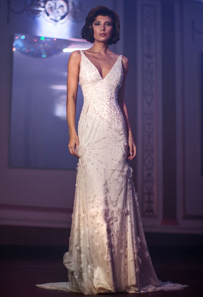 Anne Bowen Spring 2014 Wedding Dresses